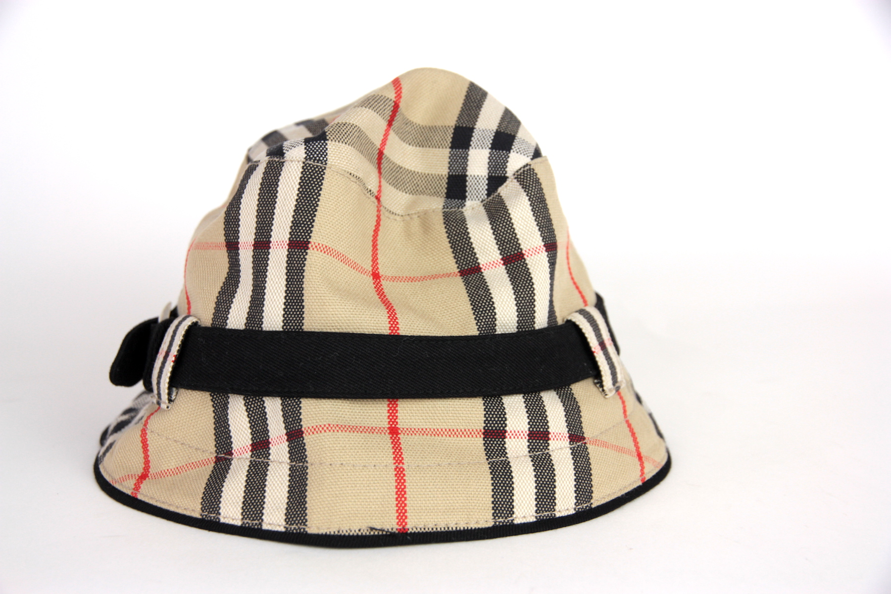 d568b46a216 Burberry London Nova Check Bucket Canvas Hat S – Fashion Reloved